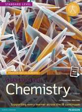 Standard Level Chemistry 2nd Edition Book + eBook