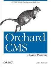 Orchard CMS – Up and Running