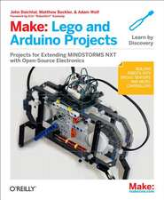 Make – LEGO and Arduino Projects