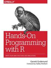 Hands–On Programming with R