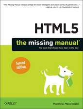 HTML5: The Missing Manual 2ed