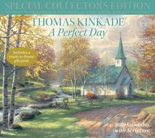 Thomas Kinkade Special Collector's Edition with Scripture 2019 Deluxe Wall Calen