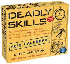 Deadly Skills 2019 Day-To-Day Calendar