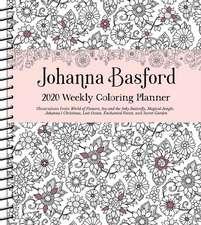 JOHANNA BASFORD 2020 WEEKLY COLOURING DI