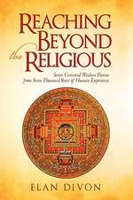Reaching Beyond the Religious