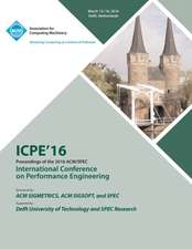 ICPE 16 7th ACM/SPEC International Conference on Performance Engineering