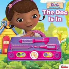 Doc Mcstuffin's - the Doc is in - Doctor Kit Book
