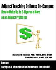 Adjunct Teaching Online & On-Campus