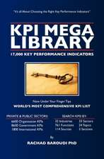 Kpi Mega Library:  17,000 Key Performance Indicators