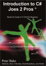 Introduction to C# Joes 2 Pros