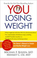 You:  The Owner's Manual to Simple and Healthy Weight Loss