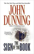 """The Sign of the Book: A Cliff Janeway """"Bookman""""  Novel"""