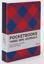 Pocketbooks 3 Mini Journals