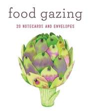 Food Gazing Notecard Set:  20 Notecards and Envelopes
