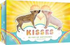 Kisses:  10 Pop-Up Notecards & Envelopes