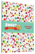 Sweet Treats Wrapping Paper:  12 Sheets + 20 Gift Tags!