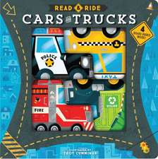 Read & Ride: Cars and Trucks: 4 board books inside!