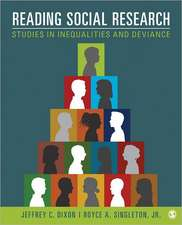 Reading Social Research: Studies in Inequalities and Deviance