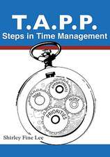 Tapp Steps in Time Management