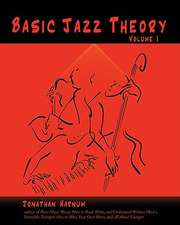 Basic Jazz Theory