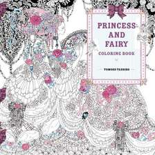 Princess and Fairy Coloring Book