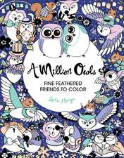 A Million Owls: Fine Feathered Friends to Color