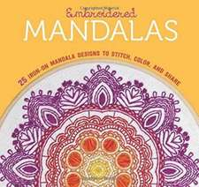 Embroidered Mandalas