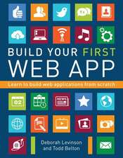 Build Your First Web App