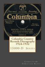 Columbia Country Records Discography 1924-1932
