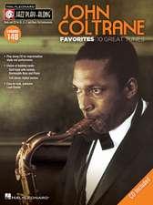 John Coltrane Favorites: Jazz Play-Along Volume 148