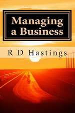 Managing a Small Business