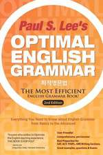 Optimal English Grammar
