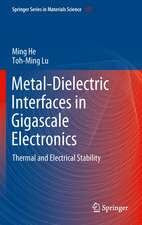 Metal-Dielectric Interfaces in Gigascale Electronics: Thermal and Electrical Stability