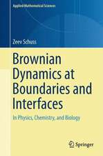 Brownian Dynamics at Boundaries and Interfaces: In Physics, Chemistry, and Biology
