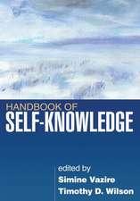 Handbook of Self-Knowledge