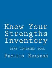 Know Your Strengths Inventory