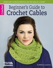 Beginner's Guide to Crochet Cables