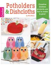 Potholders & Dishcloths