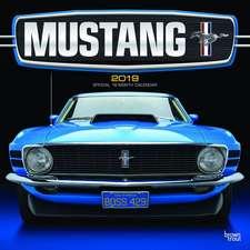 Mustang 2019 Square Wall Calendar