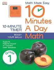 10 Minutes a Day:  Math, Grade 1