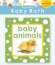 Squeaky Baby Bath:  Baby Animals