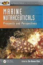 Marine Nutraceuticals:  Prospects and Perspectives