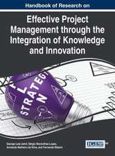 Handbook of Research on Effective Project Management Through the Integration of Knowledge and Innovation:  Decision Making in the Financial Industry