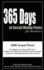 365 Days of Social Media Posts for Business