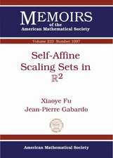 Fu, X:  Self-Affine Scaling Sets in R2