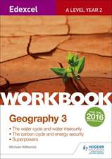 Edexcel A Level Geography Workbook 3