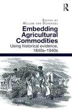 Embedding Agricultural Commodities
