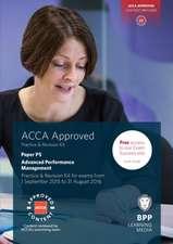 ACCA P5 Advanced Performance Management