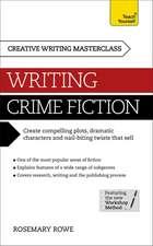 Masterclass: Writing Crime Fiction