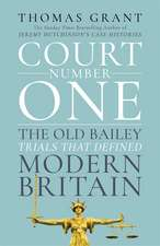 Court Number One: The Old Bailey